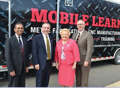 Important Tools in this program are our two Mobile Manufacturing Labs - among the first in the country to be used for this purpose - which can bring o-demand training in CNC metal fabrication and mechatronics anywhere in the state.